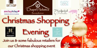 Chapel Holistics Christmas Shopping Event