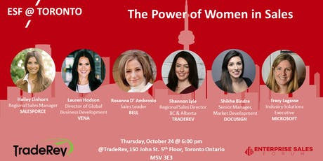 The Power of Women in Sales tickets