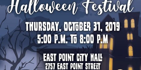 The City of East point  5th  Annual Halloween Festival tickets