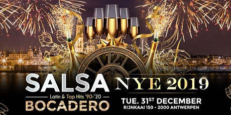 SALSA BOCADERO 'NEW YEAR'S EVE'  PARTY 2019 ! + The biggest afterparty ! tickets