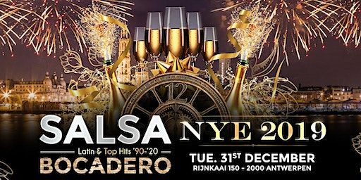 SALSA BOCADERO 'NEW YEAR'S EVE'  PARTY 2019 ! + The biggest afterparty !