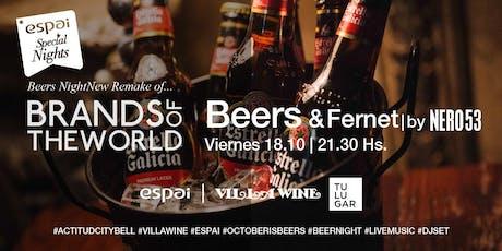 BEERS NIGHT - Noche de Cervezas internacionales entradas