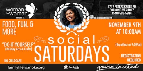 Woman to Woman Social Saturdays tickets