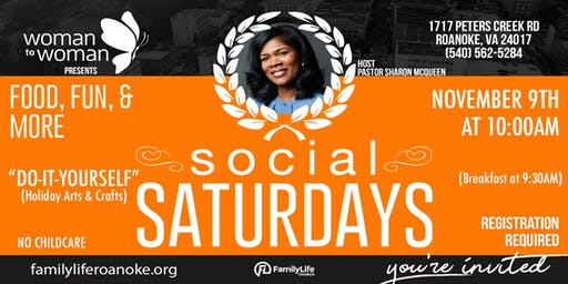 Woman to Woman Social Saturdays