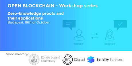 Open Blockchain Workshop Series - Zero-knowledge proofs and their applications tickets