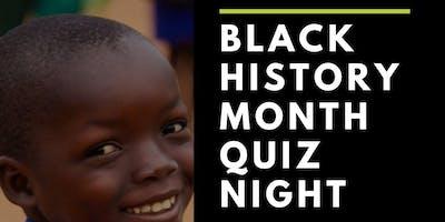 Black History Month Quiz Night