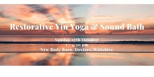 Restorative Yin Yoga and Sound bath