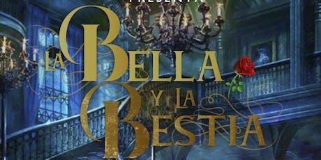 Ballet La Bella y la Bestia boletos