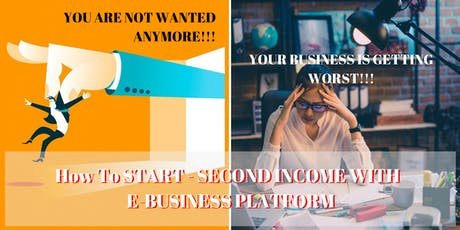 SECRET OF C TO B (E-BUSINESS PLATFORM) - How To Be READY For PLAN B  tickets