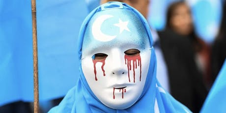 Protest for China Uyghur Muslims tickets