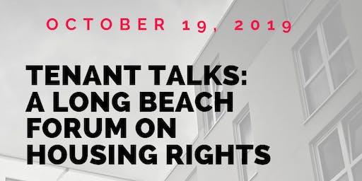 Tenant Talks: a forum on Long Beach housing