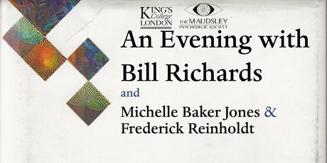 An Evening with Bill Richards, Michelle Baker Jones & Frederick Reinholdt tickets