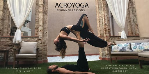 Acroyoga beginner lessons / Clases de iniciación al Acroyoga
