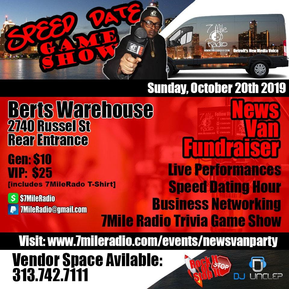 Speed Date Night / Music Review / Networking Party