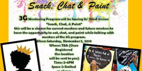 3G Mentoring Paint, Snack, and Chat tickets