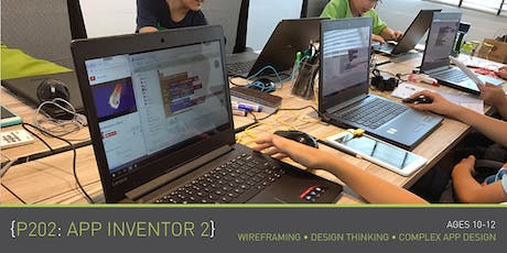 Coding for Kids - P202: App Inventor 2 Course (Ages 10-12) @ Parkway Parade tickets
