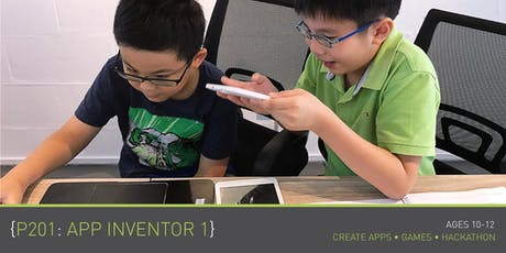 Coding for Kids - P201+P202: App Inventor 1+2 Course (Ages 10 - 12) @ Grassroots Club tickets