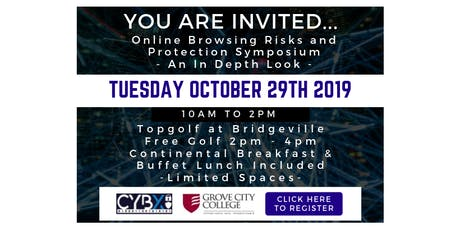 CybX Online Browsing Risks and Protection Symposium tickets