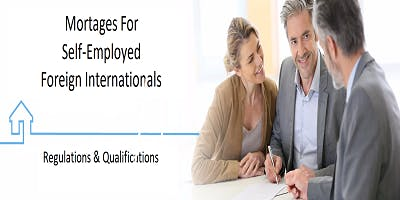 """""""Self-Employed, Foreign International Home Buyers, Down Payment Assistance""""  FREE 3 Hour CE Peachtree Corners"""