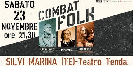 Combat FOLK, Cisco - Moneti - Lanzi tickets