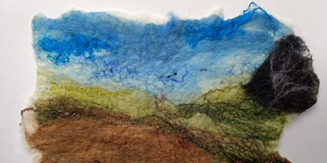 Landscapes and Seascapes Felt Workshop for Adults tickets