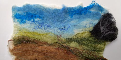 Landscapes and Seascapes Felt Workshop for Adults