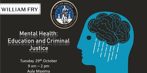 UCC Law Conference 2019 Mental Health: Education and Criminal Justice
