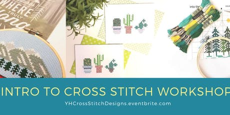 Intro to Cross Stitch Workshop @ Markets by Dream Day in Whitby tickets