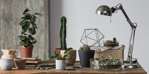 Leafage Succulent Terrarium Workshop - November