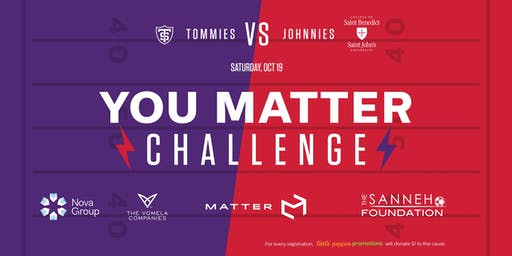 YOU MATTER Challenge: PREGAME with a PURPOSE