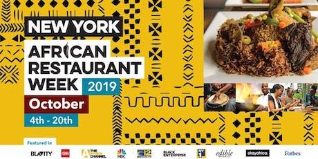 Dine at Massawa  at New York African Restaurant Week 2019 tickets