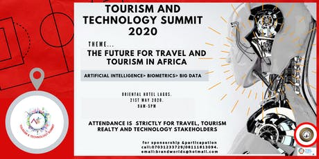 TOURISM AND TECHNOLOGY SUMMIT 2020 tickets