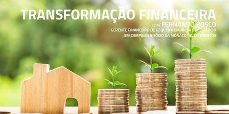 Palestra - TransformAÇÃO financeira ingressos