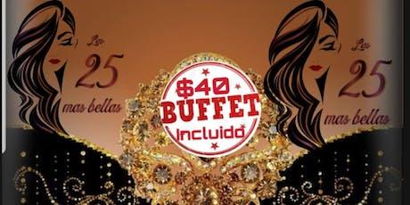 Las y Los 25 Latinas(o) mas Bellos tickets