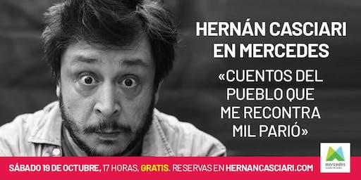 Hernán Casciari en Mercedes — «Cuentos del pueblo que me recontra mil parió»