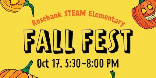 Rosebank STEAM School's Fall Festival