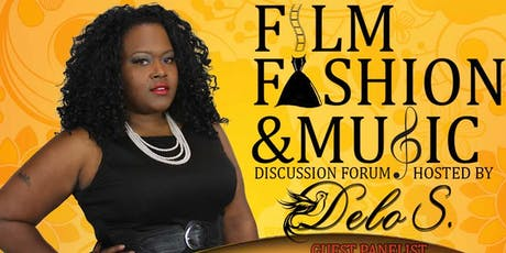 FILM, FASHION, AND MUSIC DISCUSSION FORUM LIVE TAP PODCAST tickets