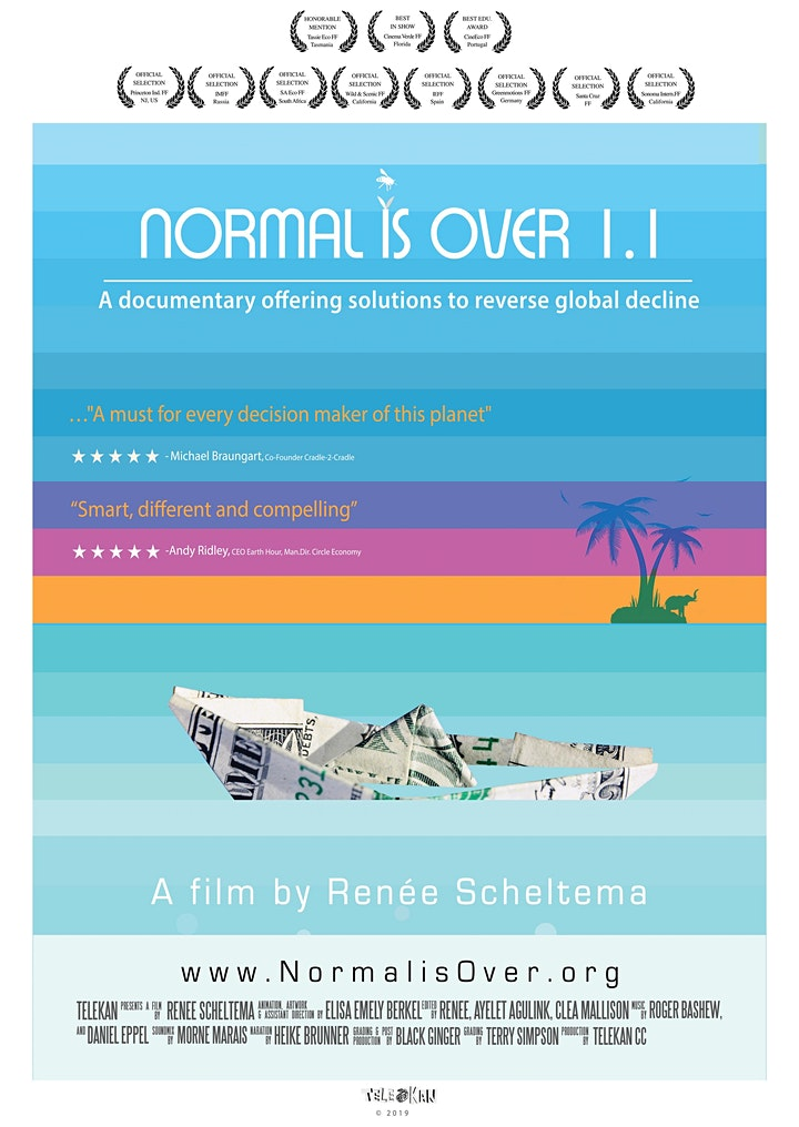 Sustainable Hackney Films For Action: Normal Is Over 1.1 image