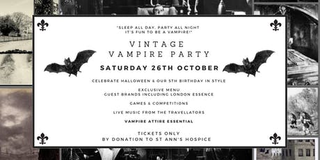 Riddles Vintage Vampire Party tickets