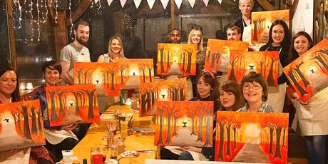 Masterapiece-Painting @ Prince's Bar, Beginner's Only. £19 tickets