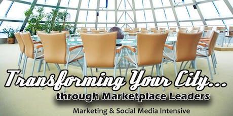 Transforming Your City Marketing & Social Media Intensive tickets
