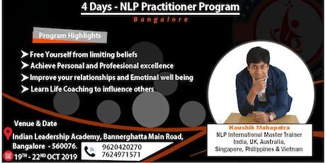 NLP Practitioner Program - With Kaushik Mahapatra tickets