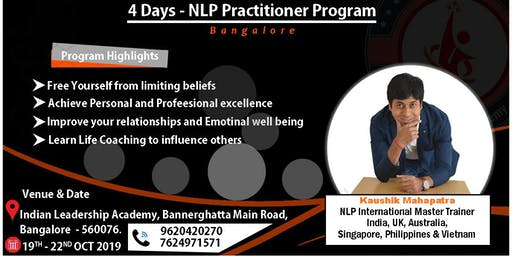 NLP Practitioner Program - With Kaushik Mahapatra