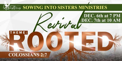 SOWING INTO SISTERS REVIVAL