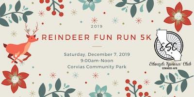 Edwards Spouses' Club Reindeer Fun Run 5K