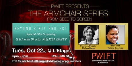 PWIFT Armchair Event: Melissa Davey tickets