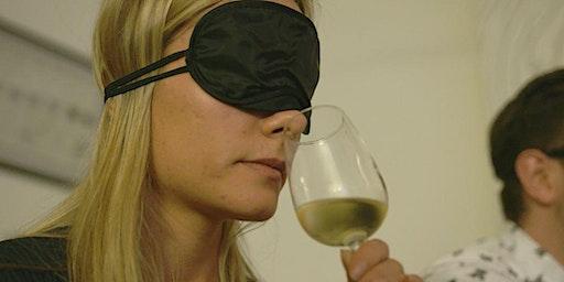 Festive blindfolded wine & food tasting experience 21st December.