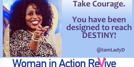 Transforming Your City Woman In Action Revive tickets
