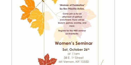 Women's Seminar (Free)