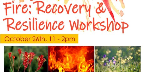 Fire Resilience and Recovery Workshop tickets